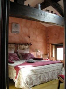 Chambre Passion - O Coeur du Paradis - Chambres d'Hôtes à Saint Amour Bellevue