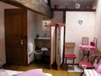 Chambre Tendresse - O Coeur du Paradis - Chambres d'Hôtes à Saint Amour Bellevue